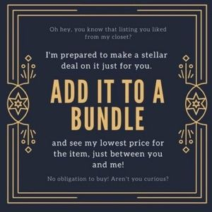 Add to bundle for Exclusive offer